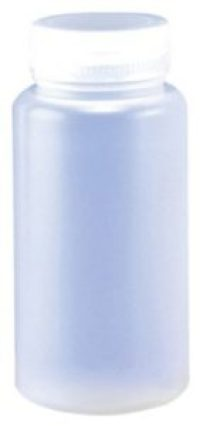 Azlon Wide Mouth Polypropylene Bottles, 500 mL Capacity (Pack of 12)