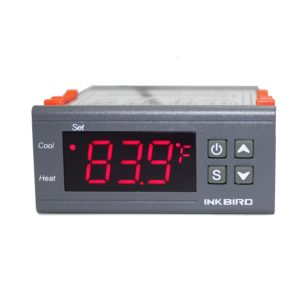 Inkbird Dual Stage Digital Temperature Controller Fahrenheit Thermostat with Senso