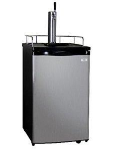 Kegco Single Tap Freestanding Beer Dispenser