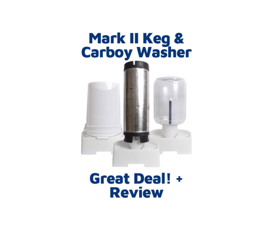 mark ii keg and carboy washer