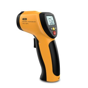 Dr.Meter IR-20 Non-contact Digital Laser Infrared Thermometer, -50°C to +550°C, Memory Function