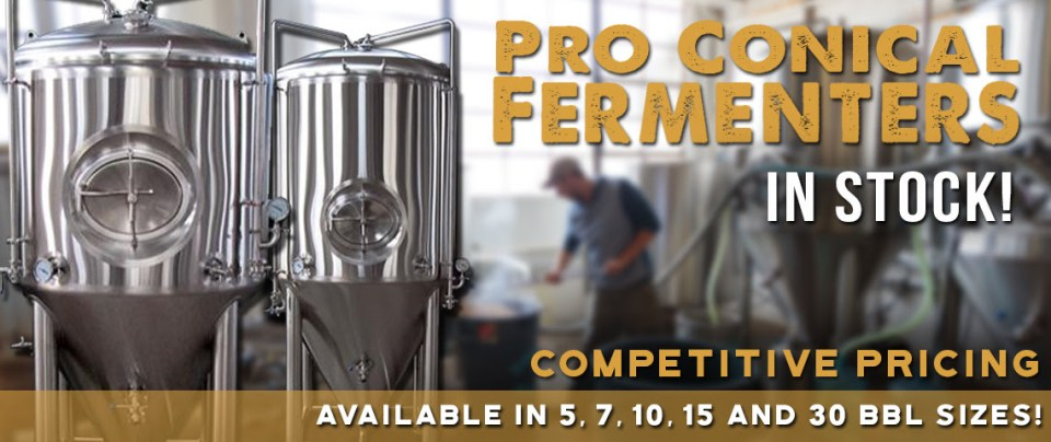 professional conical fermenters