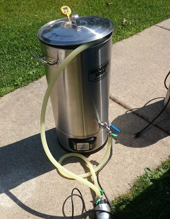 Hands on Review: Brewer's Edge Mash & Boil Electric Brewery