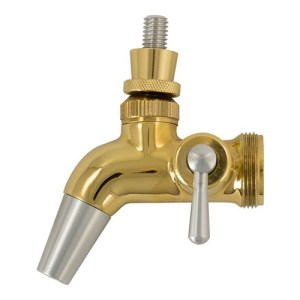 Intertap Forward Sealing Gold Plated Flow Control Faucet D1208