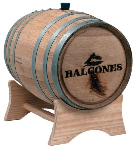 USED 5 GALLON OAK WHISKEY BARREL