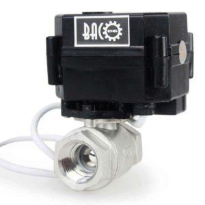 "Baco engineering 1/2"" DC12V SS304 Motorized Valve,Electrical Ball Valve CR-02"