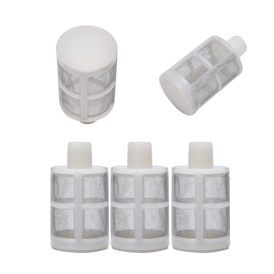 5 Pcs Stainless Mesh Homebrew Inching Siphon Filter For Home Brew Wine Making By Crqes