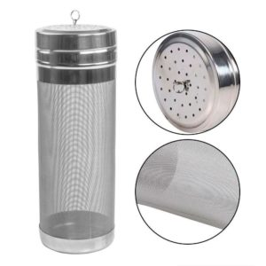 Dry Hopper-PAMISO 300 Micron Mesh Stainless Steel Dry Hopper Brewing Filter for Cornelius Kegs Corny Keg Homebrewing