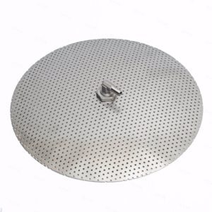 """12"""" Stainless Steel False Bottom For 10 Gallon Mash Tun Home Brewing SS Fittings"""