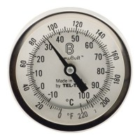 BrewBuilt Dial Thermometer - 3 in. Face x 6 in. Probe MT504