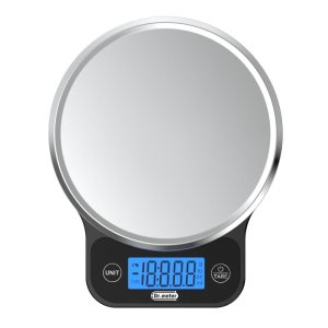 Dr.meter Digital Kitchen Food Scale, Food Grade Stainless Steel Weight Cooking Scale,11lb/5kg, DKS20