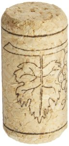 "Home Brew Ohio GR-PJO5-2LUJ #8 Straight Corks, 7/8"" x 1 3/4"" (Pack of 100)."