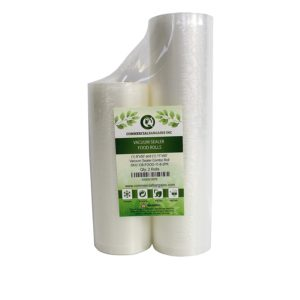 """Commercial Bargains 11"""" x 50' and 8"""" x 50' Commercial Vacuum Sealer Saver Rolls Food Storage"""