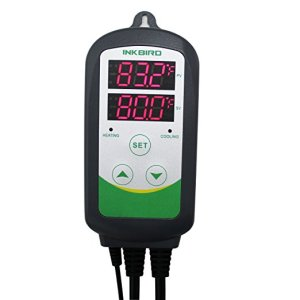 Inkbird Itc-308 Digital Temperature Controller Outlet Thermostat, 2-stage, 1100w, w/ Sensor