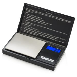 Smart Weigh SWS600 Elite Pocket Sized Digital Scale 600 x 0.1g, Black