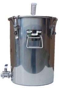 14 Gallon Chapman Stainless Fermenter Boil Kettle Ported Homebrew Moonshine Beer