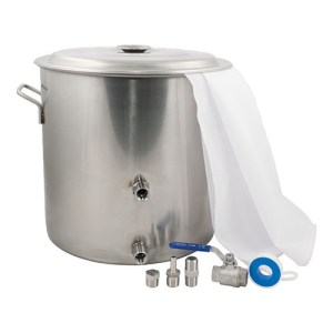 BIAB Brew in a Bag Stainless Steel Brewing Kettle Kit