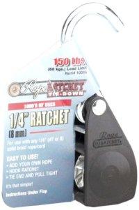 "Carolina North 10016 1/4"" Rop Ratchet, 150 lbs Capacity"