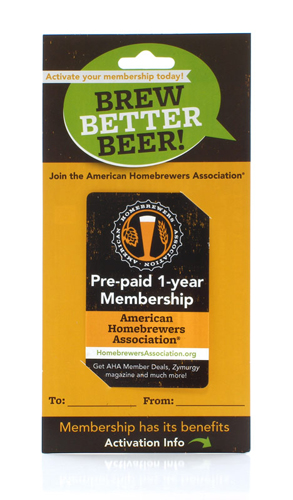 American Homebrewers' Association (AHA) Membership