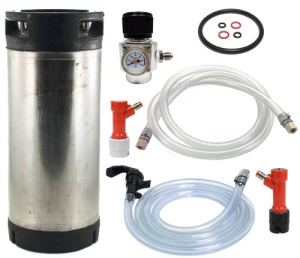 Pin Lock Keg System with Paintball Regulator (USED KEG)