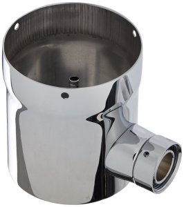"Krome Dispense C517 3"" Draft Beer Tower Extension Chrome Finish, Stainless Steel, Convert from A 2 Faucet to A 3 Faucet"