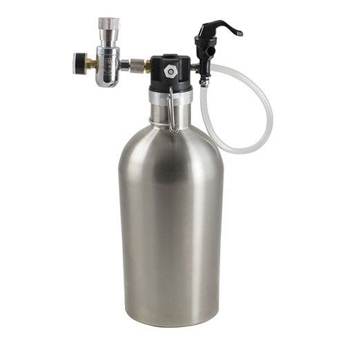 Ultimate Father's Day Growler Kit Stainless Travel Keg Double Wall Insulated