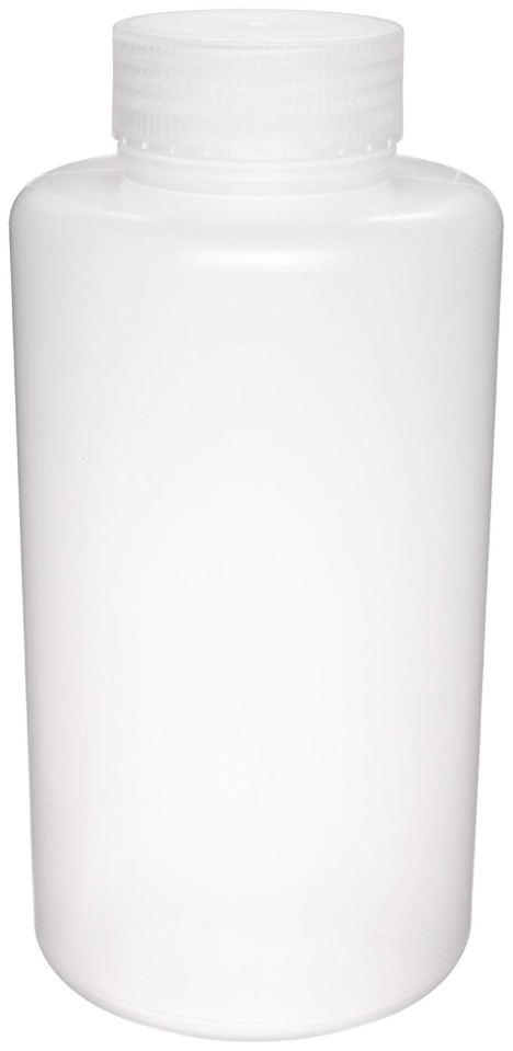 Azlon 301625-0008 250mL / 8oz, Plastic (PP) Wide Mouth Lab Sample Bottle (Pack Of 12)