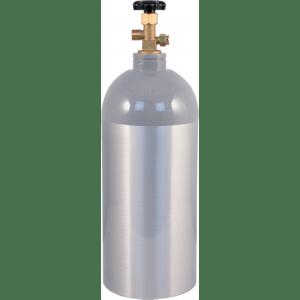 10 lb CO2 Tank Aluminum Air Cylinder Draft Beer Kegerator Welding Wine Homebrew