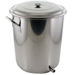 10 Gallon Brew Pot with Volume Markings (1 Weld)