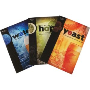 Brewing Elements Book Set - Water, Hops, Yeast (Book) BK509