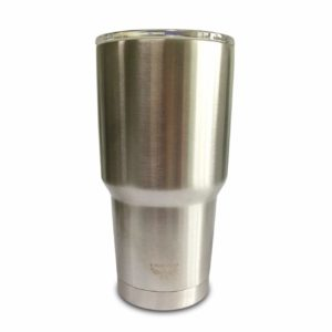 5 Star Stuff 30 oz Tumbler, 100% Stainless Steel Double Wall Vacuum Insulated Cup with Lid – Stainless Steel