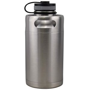 Insulated Beer Growler 64oz Keg (Stainless Steel)