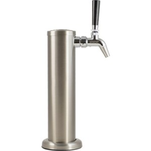 Single Tap Stainless Steel Draft Tower with Intertap Faucet D1325