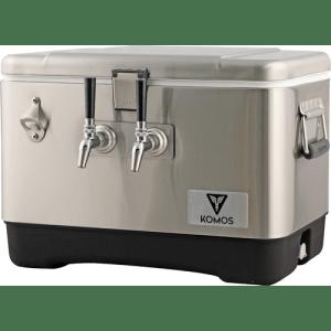 Komos Stainless Steel Draft Box (2 Tap) D1913