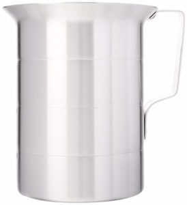 Crestware MEA04 4-Quart Aluminum Liquid Measures, 1 Silver