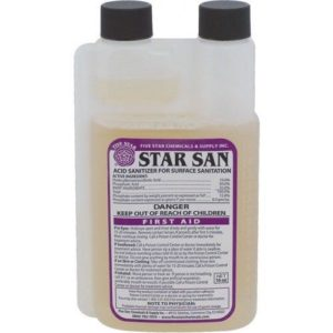 Star San 16oz Acid Sanitizer, No Rinse Food Grade Homebrew Beer Wine Moonshine