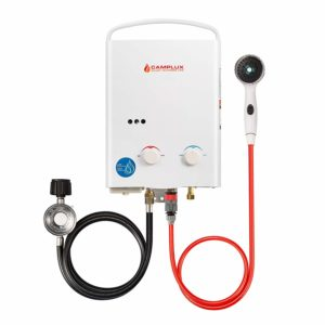 Camplux 5L 1.32 GPM Outdoor Portable Propane Tankless Water Heater