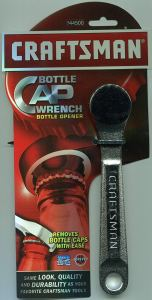 Craftsman Bottle Cap Wrench Bottle Opener, 9-44500