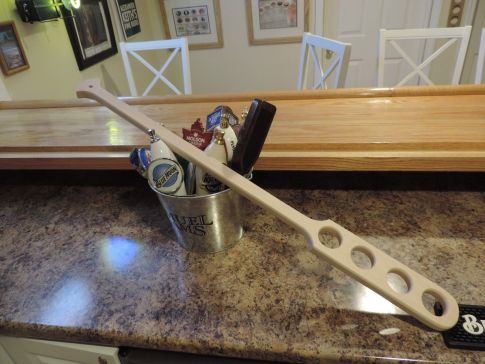 Home Brewing All Grain Mash Paddle Made by Hand in the USA Maple