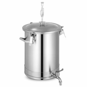VEVOR Stainless Steel Fermenter Brewmaster Brewing Equipment for Home Beer Brewer, 7.5 Gallon