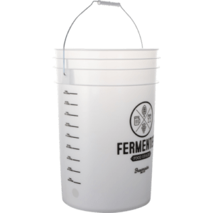 6.5 Gallon Ported Fermenting Bucket w Lid & Spigot Food Grade Brewing Pail Beer