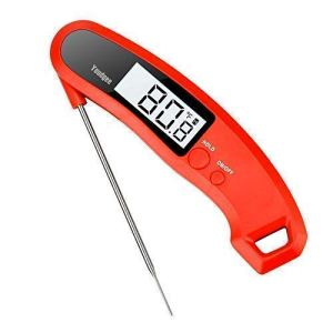 Youdgee Meat Thermometer, Digital Instant Read Cooking Food Thermometer for Grill, BBQ, Kitchen, Candy, Milk, Tea