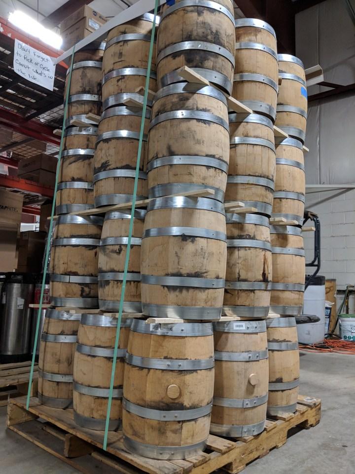 5 Gallon Used Whiskey Barrels