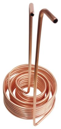 """Quick Chill Triple Coil Immersion Wort Chiller, 3/8""""/50', Copper"""