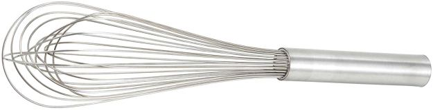 Winco Stainless Steel Piano Wire Whip, 18-Inch