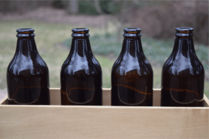 8oz Amber Beer Bottle || Great For Small Batches || Share With Friends!