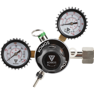 Komos™ Dual Gauge CO2 Regulator D1077