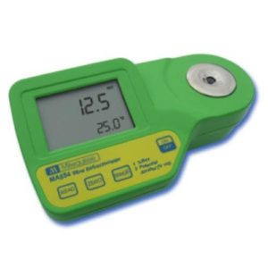 Milwaukee Instruments MA884 Digital Refractometer Grape Juice