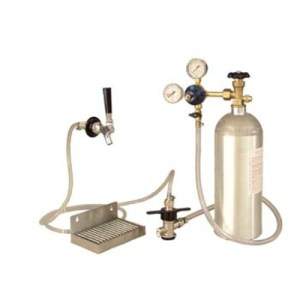 Kegerator Conversion Kit - Stainless Deluxe D1001