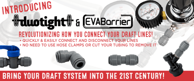 Duotight Push-In Fittings & EVABarrier Double Wall Draft Tubing